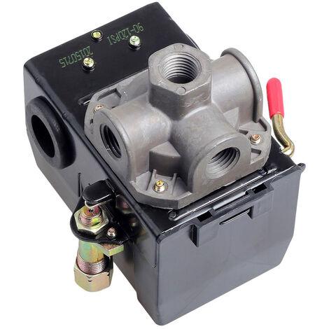 Druckluftkompressor Steuerschalter De La Vanne 4120 Psi Entlade-Port On / Off Lever