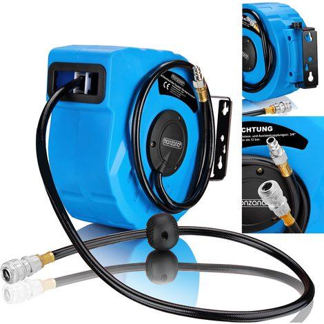 Other Air Tools Tools & Workshop Equipment Druckluft-schlauchtrommel 10 M Mit Aufrollautomatik Aufroller Drucklufttrommel