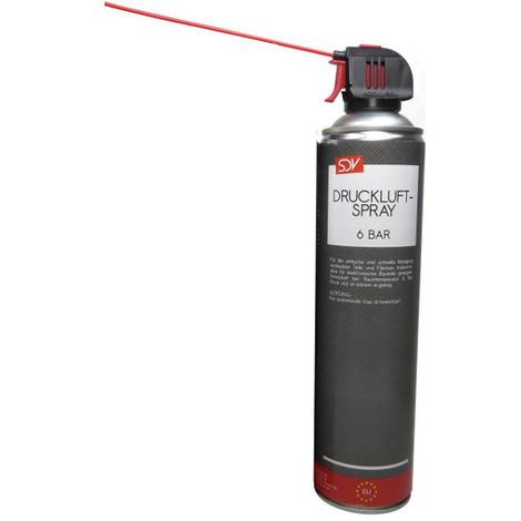 DRUCKLUFTSPRAY * 6 BAR * Air Duster Druckluftreiniger Druckluft Spray 1x 600ml