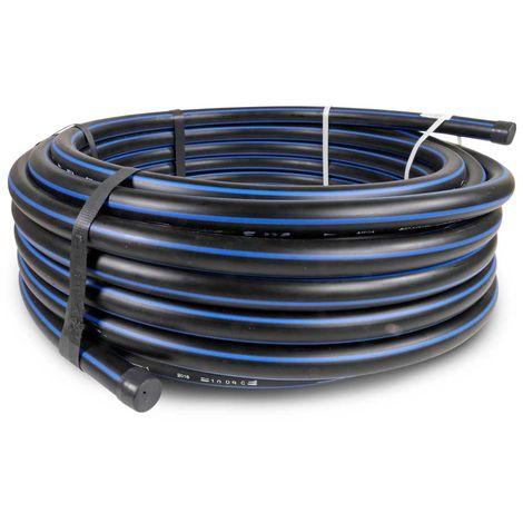 "PE Rohr DN25 PE-HD 80 SDR 11,0 Ø 25mm 3//4/"" Zoll Ring-Länge 5 12,5 25 50 100m"