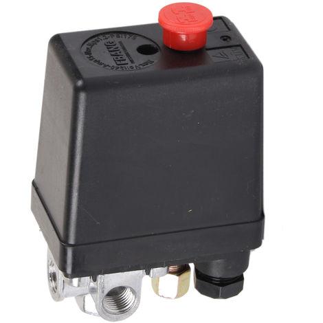 Druckschalter 5bar/ 8-10 bar 4-Wege Ersatzteil für WELDINGER Flüsterkompressor bis 340L