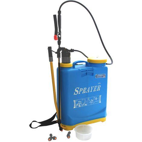 Drucksprüher - Rückenspritze 20 Liter Gartenspritze Druckspritze
