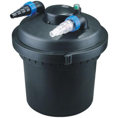 Druckteichfilter Set CPF 280 mit 38W Eco Pumpe 10m Schlauch bis 8.000l Nr.11