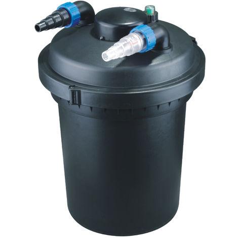 Druckteichfilter Set CPF 380 mit 38W Eco Pumpe 10m Schlauch bis 12.000l Nr.13