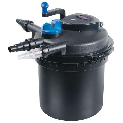 Druckteichfilter Set CPF 5000 mit 40W Eco Pumpe 10m Schlauch bis 8.000l Nr.17