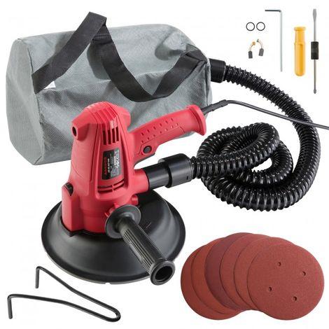 Dry Wall Sander Hand Sander Disc Sander Drywall Sander 710W + Pads Hose Dust Bag
