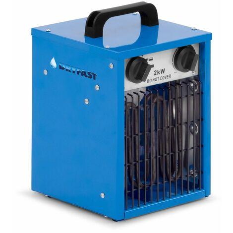 Dryfast DEH2 Calentador eléctrico - 2000W - 186m³ / h