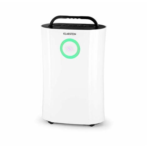 DryFy Pro Deshumidificador compresión Acondicionardor Ambiente 20l/d 20m² 370W LED Timer blanco