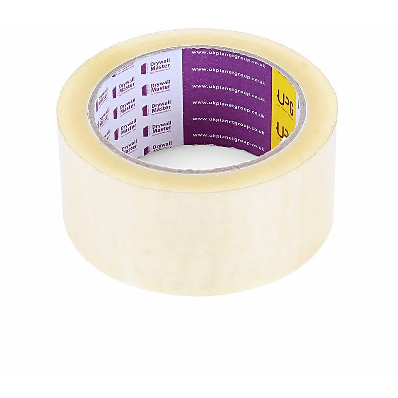 Image of Clear Strong Parcel Packing Tape Cartoon Sealing Sellotape 48MM X 66M - Drywall Master