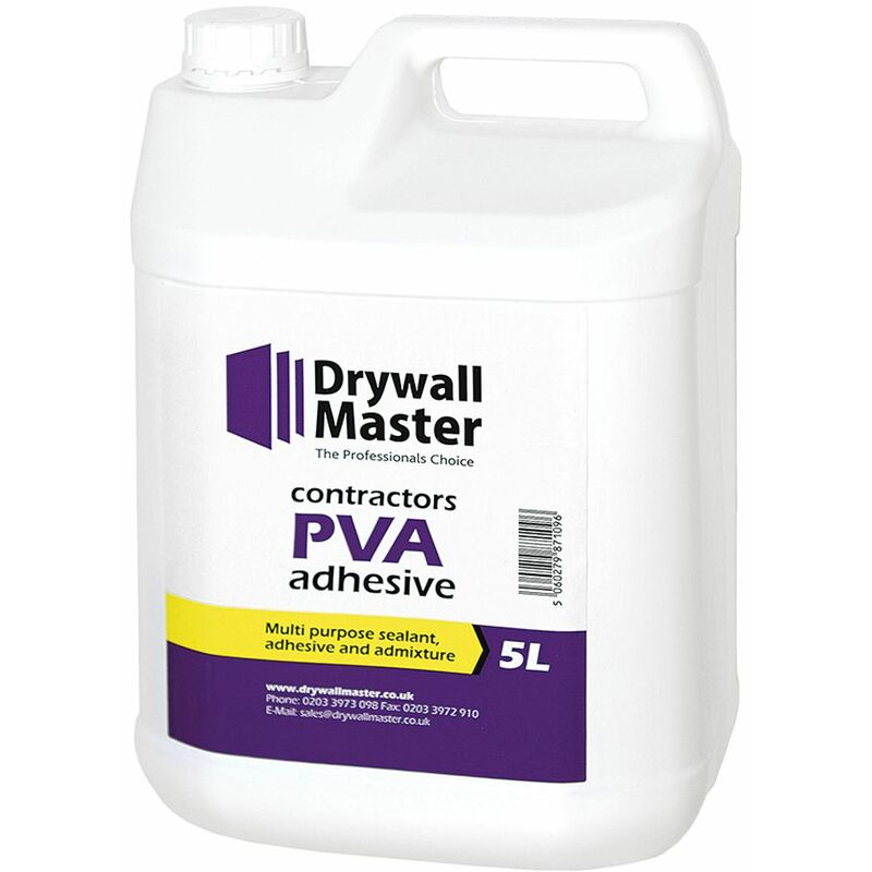 Image of Drywall Master Contractor PVA 5 Litre