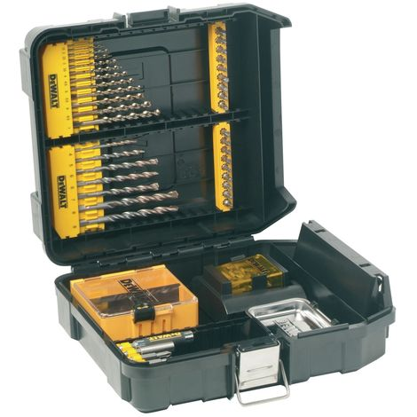 DT9281 Mini MAC Masonry & Metal Drilling Kit Set 63 Piece
