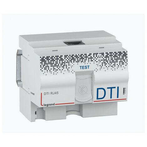 """main image of """"DTI modulaire RJ45 pour coffret multimédia 4,5 modules (413008)"""""""