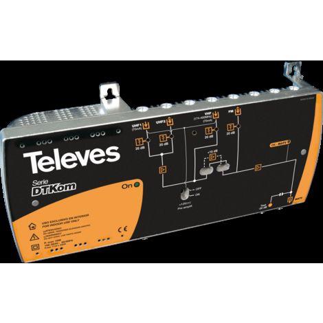 DTKOM PD UHF-BV-BIV-VHF-FM TELEVES 4509
