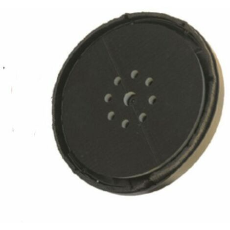 DTOOLS - Disque de fixation pour ponceuse - Diamètre 225mm - Disque de remplacement pour fixation du papier abrasif - Bleu