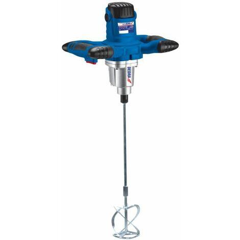 DTOOLS   Malaxeur électrique 1200 W/230V   Vitesse 500-700 tr/min   Diamètre turbine 120 mm   Fixation M14 - Bleu