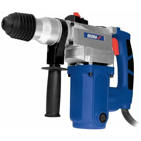 DTOOLS | Marteau perforateur 1500W 4.8J | SDS Plus | Poignée + malette | Perforateur | Outil électroportatif atelier bricolage - Bleu