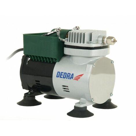 DTOOLS - Mini-compresseur - Kit de peinture de précision - Puissance 300W - Pression 3,5bar + Débit 50l/min - Blanc