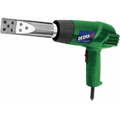 DTOOLS - Pistolet à air chaud avec buse pour barbecue - 1000/2000W - Tension 230 V - Température 550°C - Vert