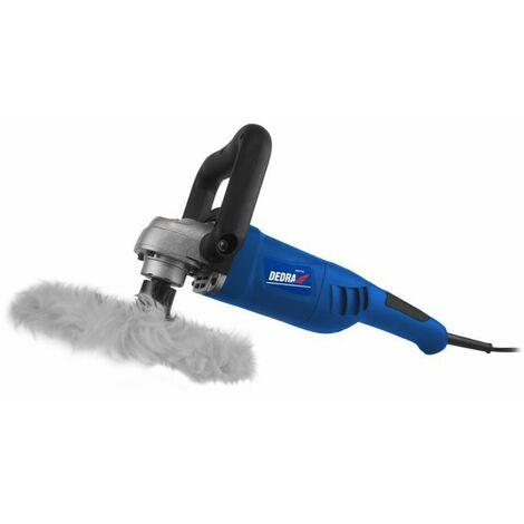 DTOOLS - Polisseuse électrique pour carrosserie voiture/meubles - Puissance 1200 W - Lustreuse orbitale - Outil garage atelier - Bleu