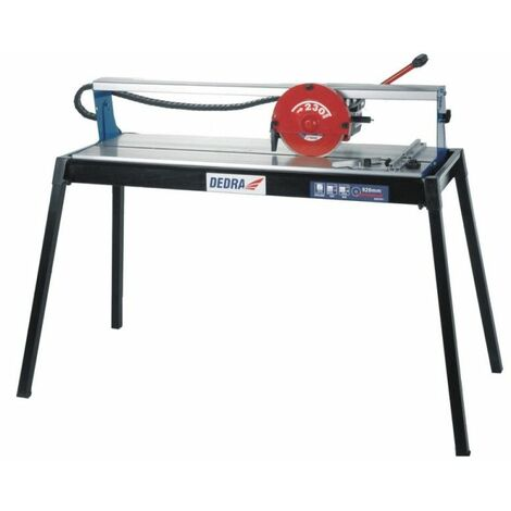DTOOLS - Scie à carreaux 800 W 2950 tr/min| Coupeuse carreaux électrique - Scie de carrelage sur table - Découpe humide - Argent