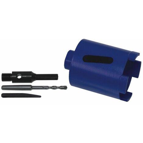 DTOOLS - Scie cloche diamantée - Diamètre du fil 68mm - Hauteur 150mm - Bleu