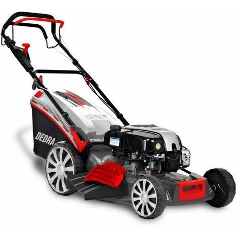 DTOOLS   Tondeuse à gazon thermique tractée 161 cm3   2,5 kW/3,4 cv   Vitesse de rotation 2800 tr/min   Bac 65 L - Rouge