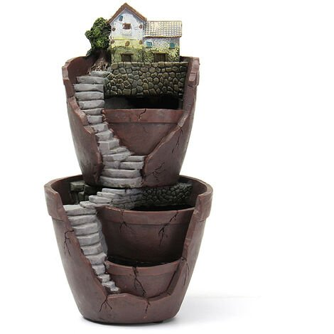 Dual Layer Garden Pot Flower Planter Box Plant not included