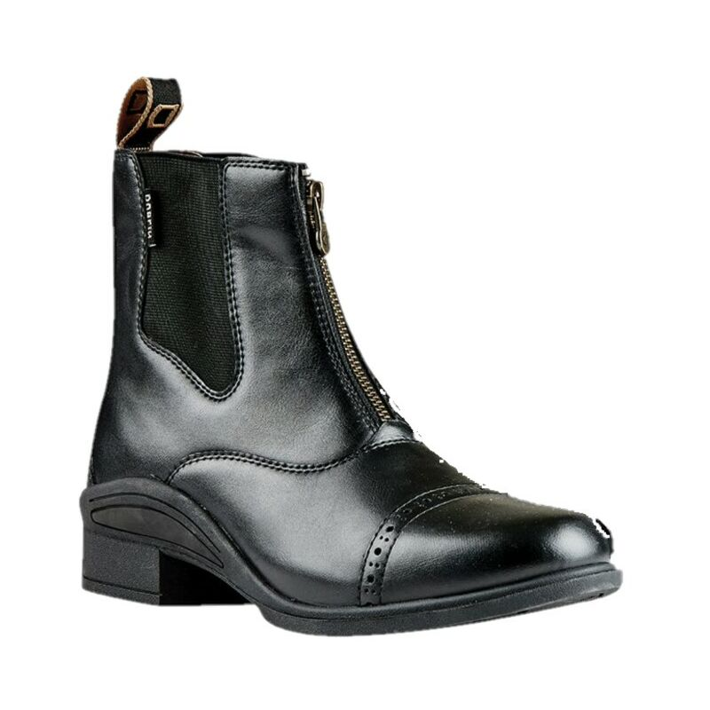 Image of Childrens/Kids Altitude Short Riding Boots (4 UK Child) (Black) - Dublin