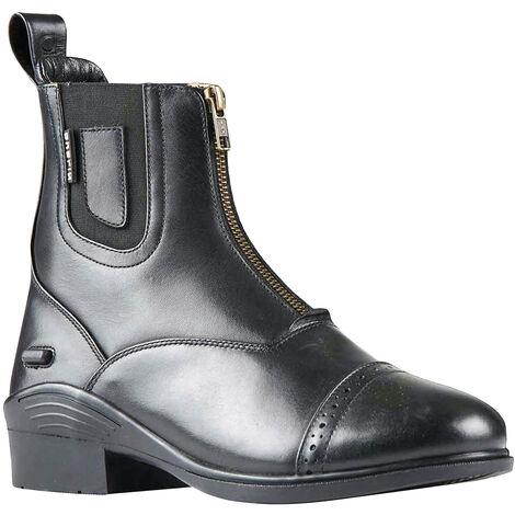 Dublin Womens/Ladies Evolution Zip Front Waterproof Leather Paddock Boots