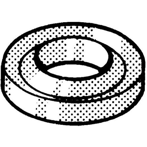 DUBO Retaining ring for hexagon bolts and nuts, large pack Plastic Polyamide (nylon) 6 large pack White