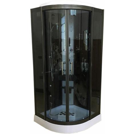 Ducha Hidromasaje Cromoterapia Nuevo Modelo Toronto 90 x 90 cm h 215 cm
