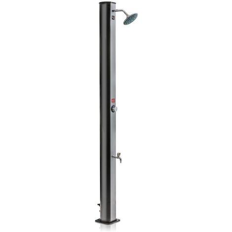 Ducha Solar 35 l PVC Frontal Silver Gre DSPS35