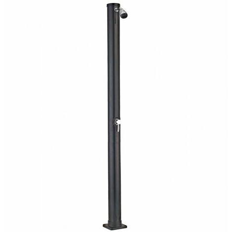 Ducha solar de PVC negro 20 litros