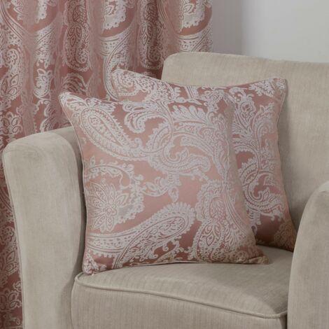 """Duchess Cushion Cover Blush 17x17"""" Bed Sofa Accessory"""