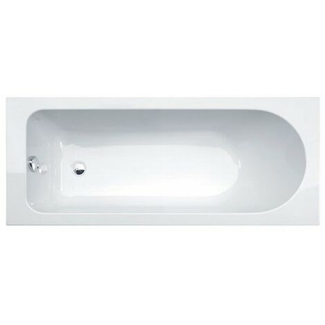 Duchy Camden Single Ended Rectangular Bath 1600mm x 700mm - 0 Tap Hole