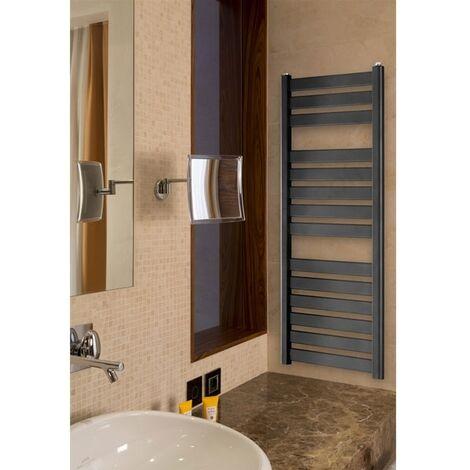 Duchy Capri Towel Rail 1150mm H x 500mm W - Anthracite Grey