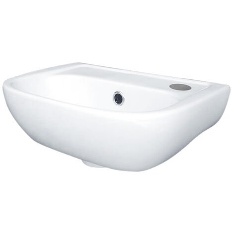Duchy Fuchsia Cloakroom Basin 380mm Wide 1 RH Tap Hole
