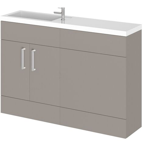 Duchy Nevada Combination Unit with Basin 1200mm Wide - Cashmere