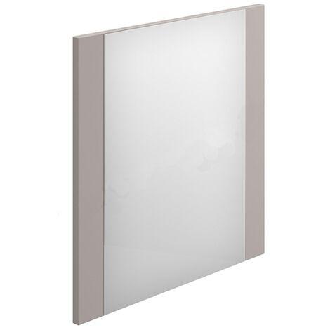 Duchy Nevada Rectangular Bathroom Mirror, 450mm Wide, Cashmere