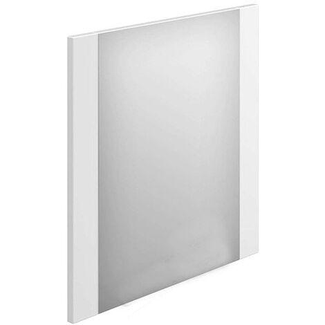 Duchy Nevada Rectangular Bathroom Mirror, 450mm Wide, White