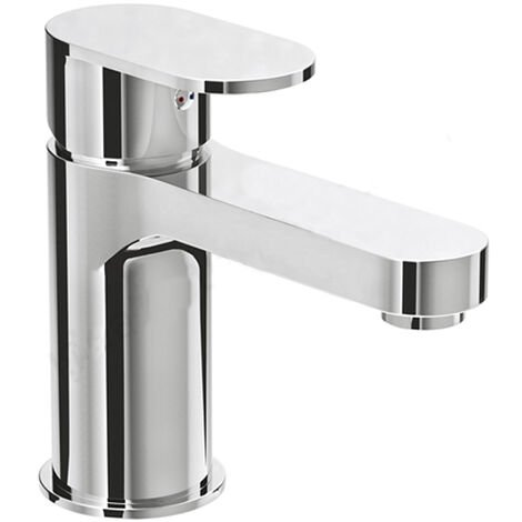 "main image of ""Duchy Osmore Mono Bath Filler Tap Pillar Mounted - Chrome"""