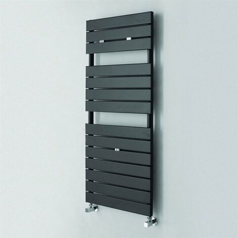 Duchy Palermo Designer Heated Towel Rail 1210mm H x 500mm W Anthracite