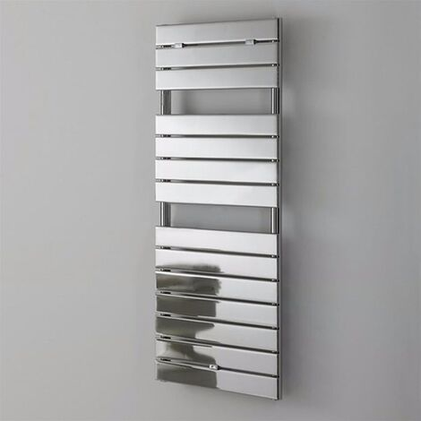 Duchy Palermo Designer Heated Towel Rail 1210mm H x 500mm W Chrome