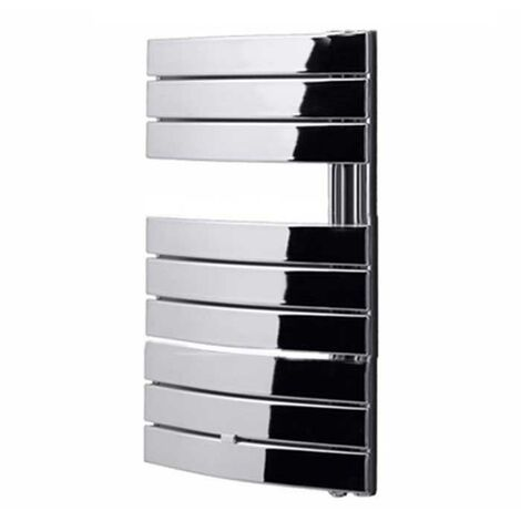 Duchy Pieve Designer Heated Towel Rail 780mm H x 550mm W Chrome