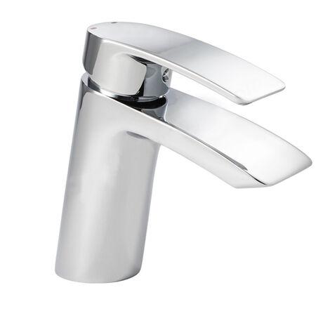 "main image of ""Duchy Pisco Mono Bath Filler Tap - Chrome"""