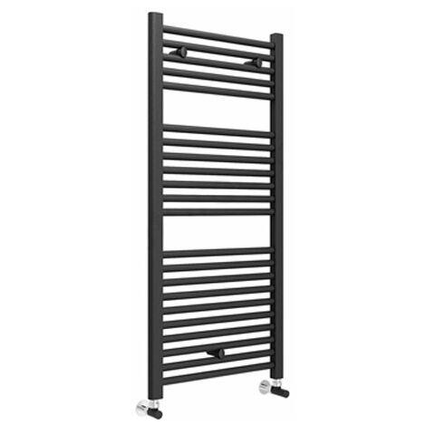 Duchy Standard Straight Towel Rail 1100mm H X 500mm W - Anthracite Grey