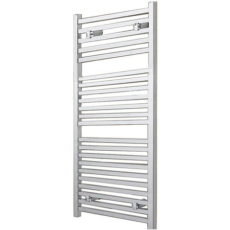 Duchy Todi Square Bar Heated Towel Rail 1110mm H x 500mm W Chrome