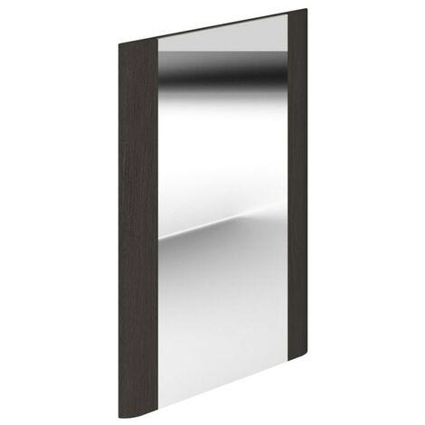 Duchy Vermont Rectangular Bathroom Mirror, 450mm Wide, Dark Grey