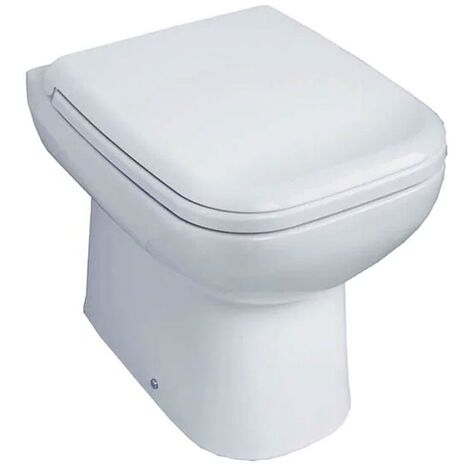 Duchy Violet Back to Wall Toilet WC 500mm Projection - Soft Close Seat