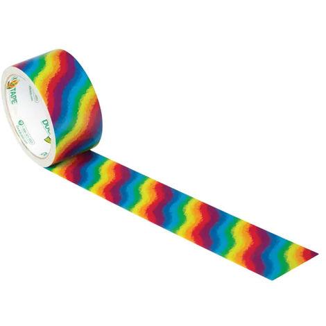 Duck Tape 48mm x 9.1m Rainbow
